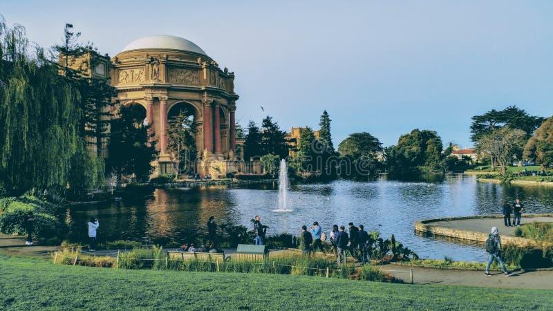 San Francisco Park royaltyfri fotografi