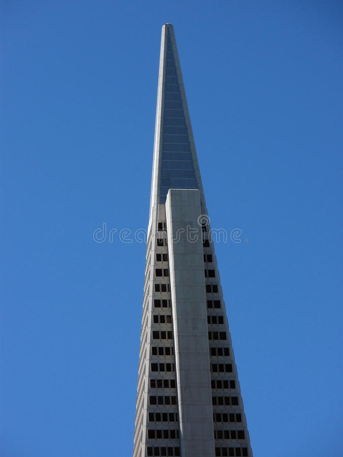 San Francisco - pirâmide do transamerica fotografia de stock