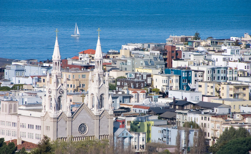 San Francisco plażowa północ zdjęcia royalty free