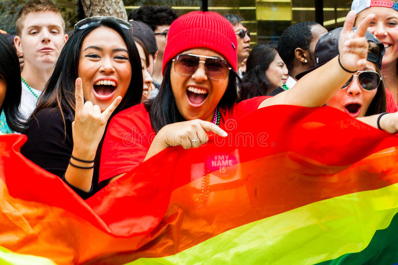 2015 San Francisco Pride stock photography