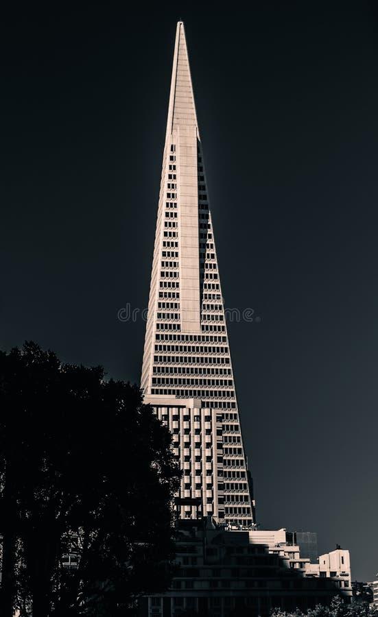 San Francisco Pyramid Tower 2019 royaltyfria bilder