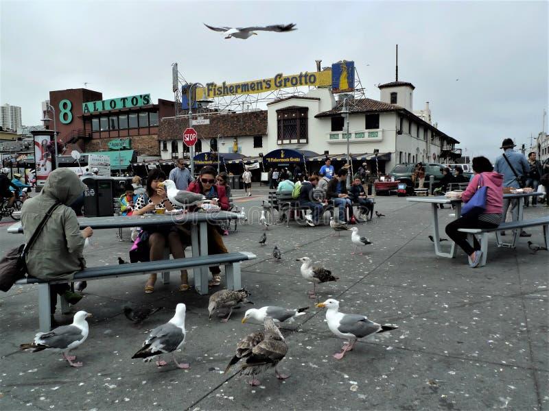 San Francisco, quai de Fishermans image libre de droits