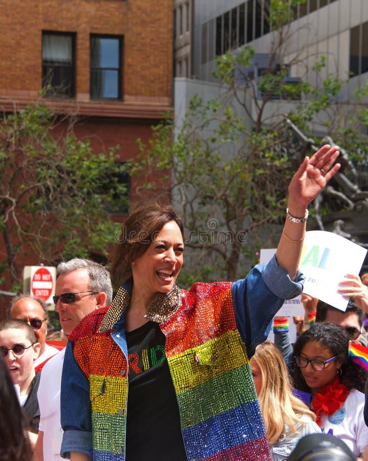 San Francisco quarante-neuvième Pride Parade gai annuel images stock
