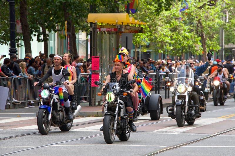 San Francisco quarante-neuvième Pride Parade gai annuel photo libre de droits