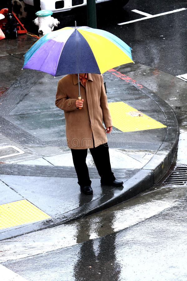 San Francisco In The Rain images stock