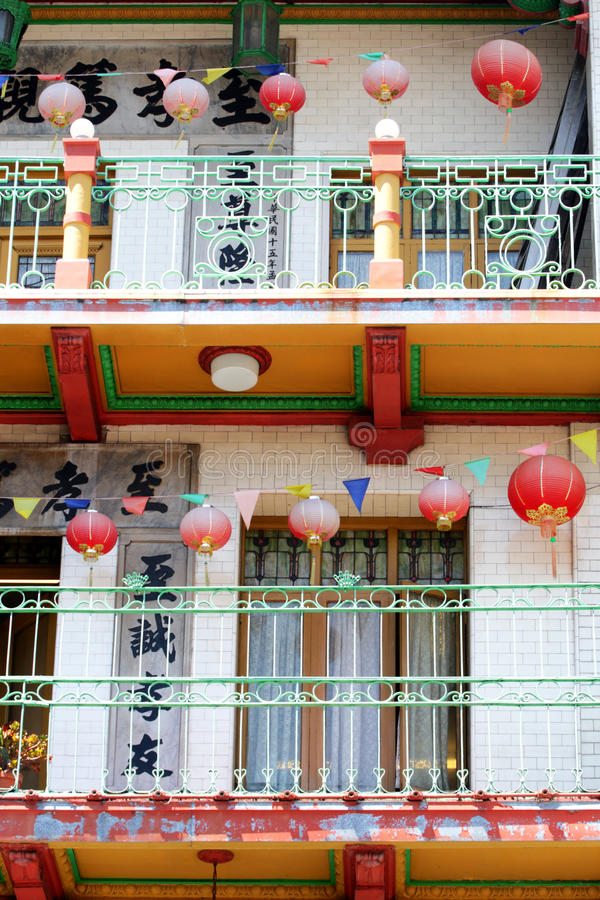San Francisco's Chinatown is one of North America's largest Chinatowns royalty free stock photos