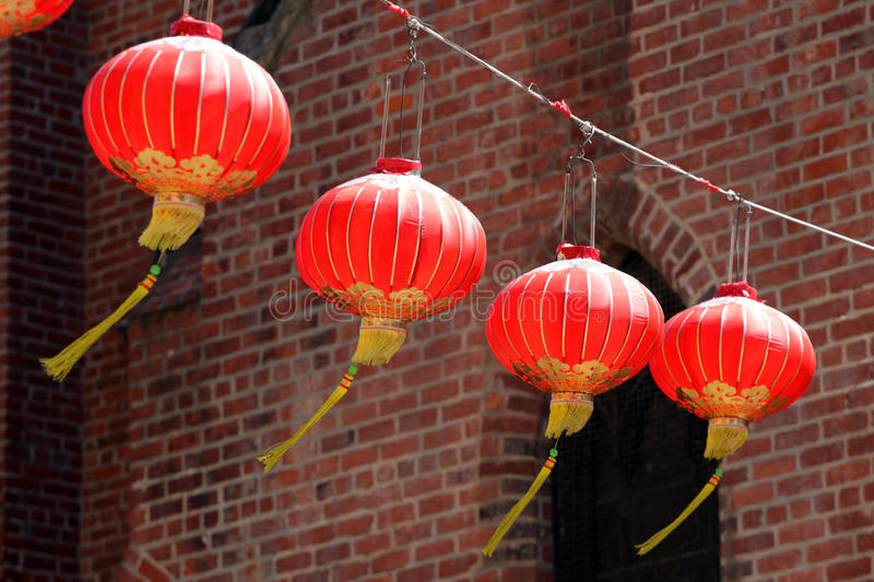 San Francisco's Chinatown is one of North America's largest Chinatowns stock images