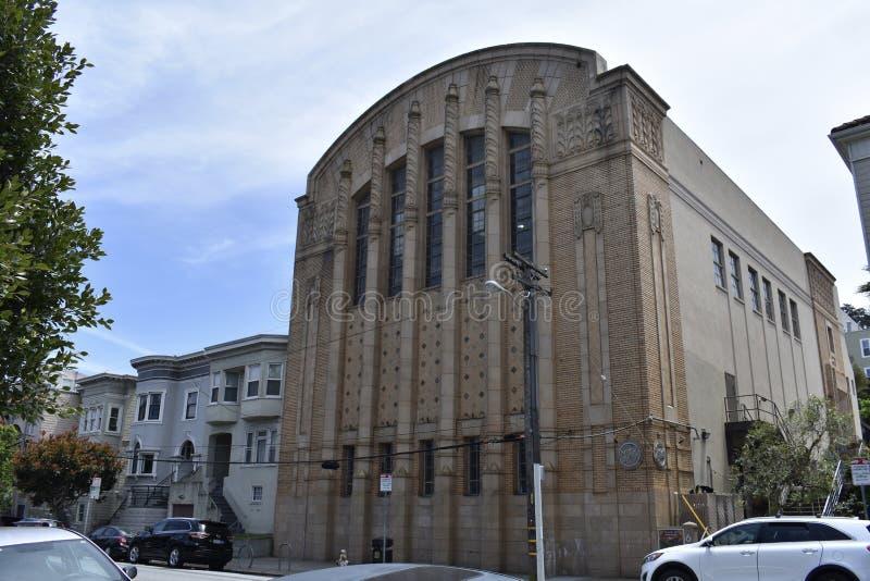 San Francisco-` s ehemalige polytechnische Oberschülerinturnhalle stockfotos