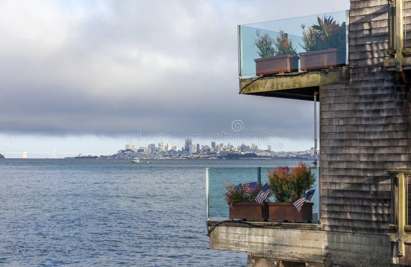 San Francisco from Sausalito stock photos