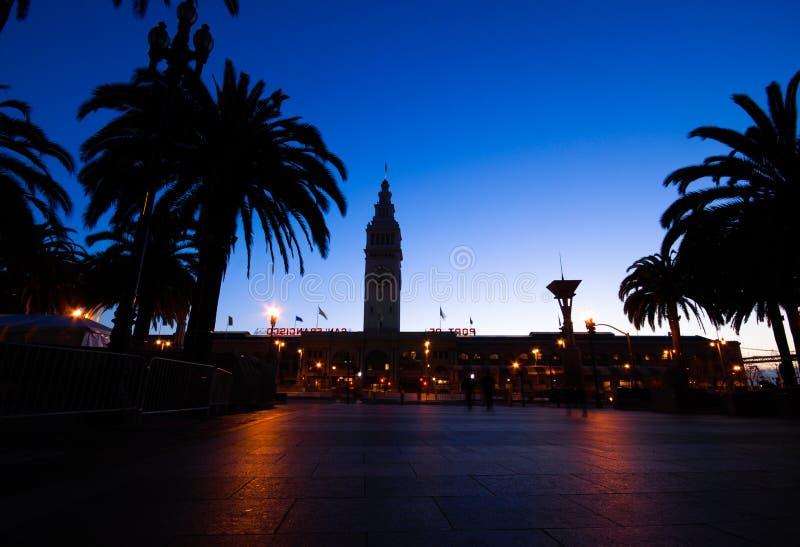 San Francisco schronienia dawn zdjęcia stock