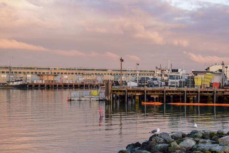 San Francisco schronienie - Fisherman& x27; s nabrzeże zdjęcie royalty free