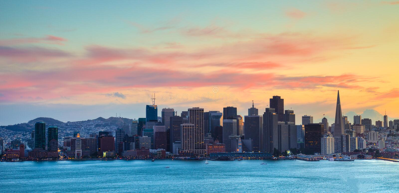 Download San Francisco Skyline Stock Photo - Image: 14460630