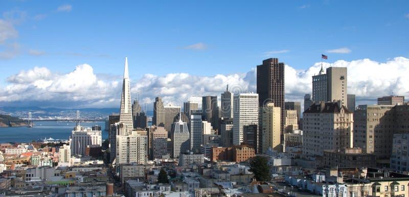 San Francisco Skyline (Panorama) stock photos