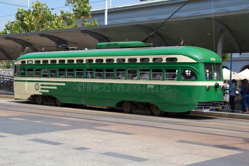 San Francisco spårvagn arkivfoton