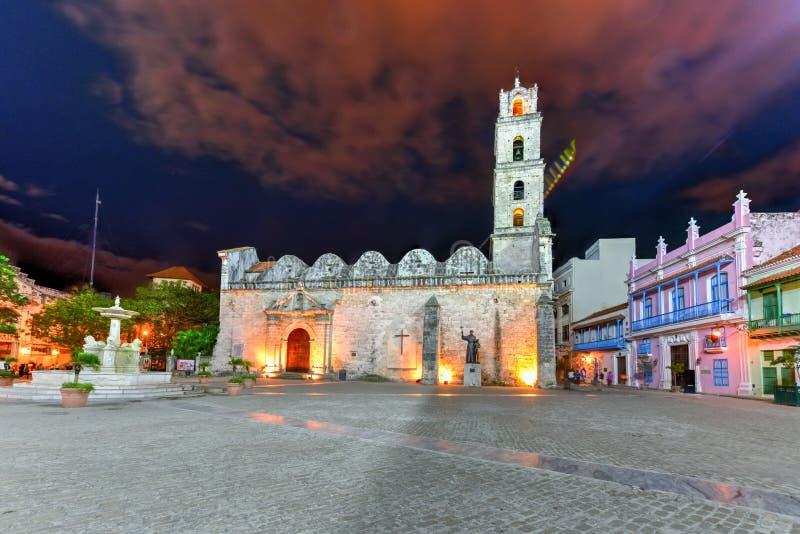 San Francisco Square - Havana, Kuba stockfotos