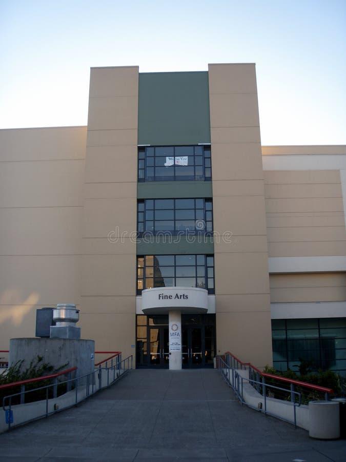 San Francisco State University - construção das belas artes foto de stock royalty free