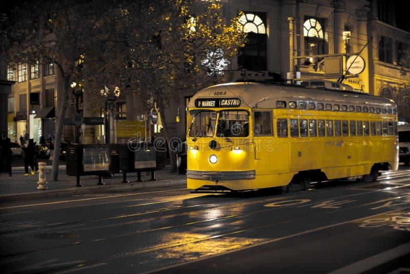 San Francisco Straßen-Auto lizenzfreies stockbild
