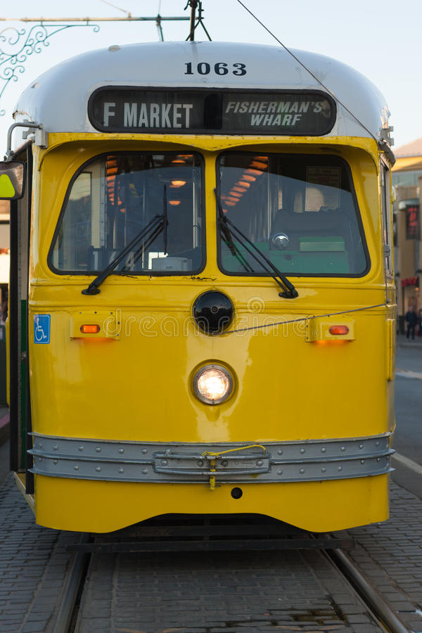 San Francisco Straßen-Auto lizenzfreies stockfoto