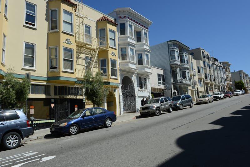 San francisco street zdjęcie royalty free