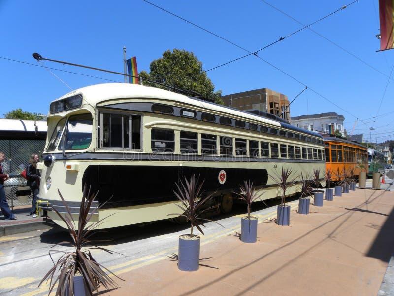 San Francisco streetcar stock image