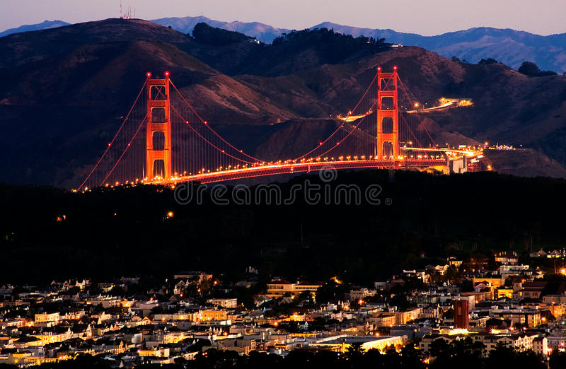 Download San Francisco Sunrise stock photo. Image of landscape - 27206344