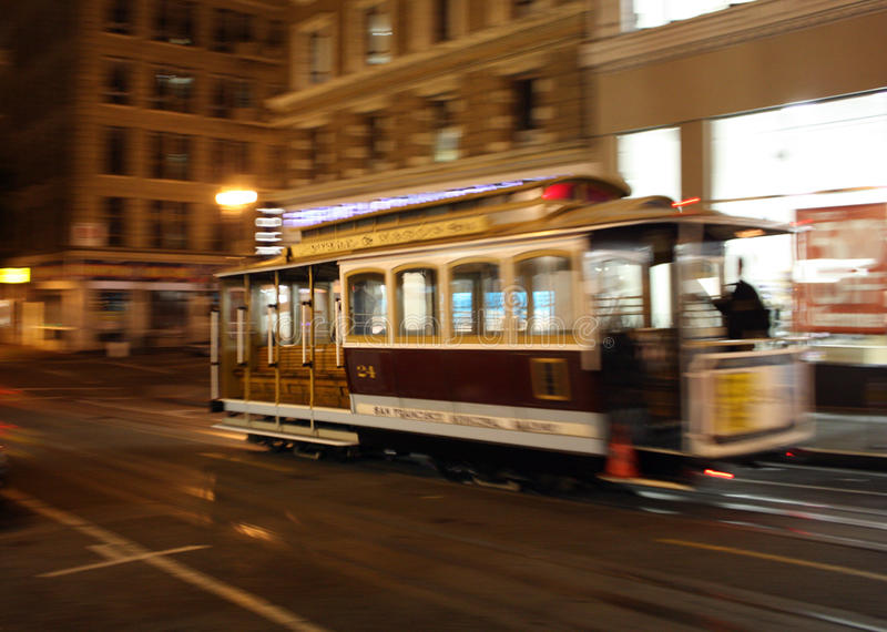 Download San francisco tram stock image. Image of francisco, orange - 15261847