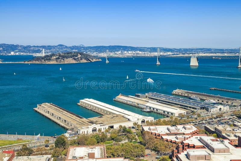 San Francisco Treasure Island stock foto