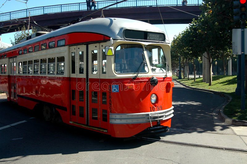 Download San Francisco Trolley stock image. Image of scenic, rural - 1362311