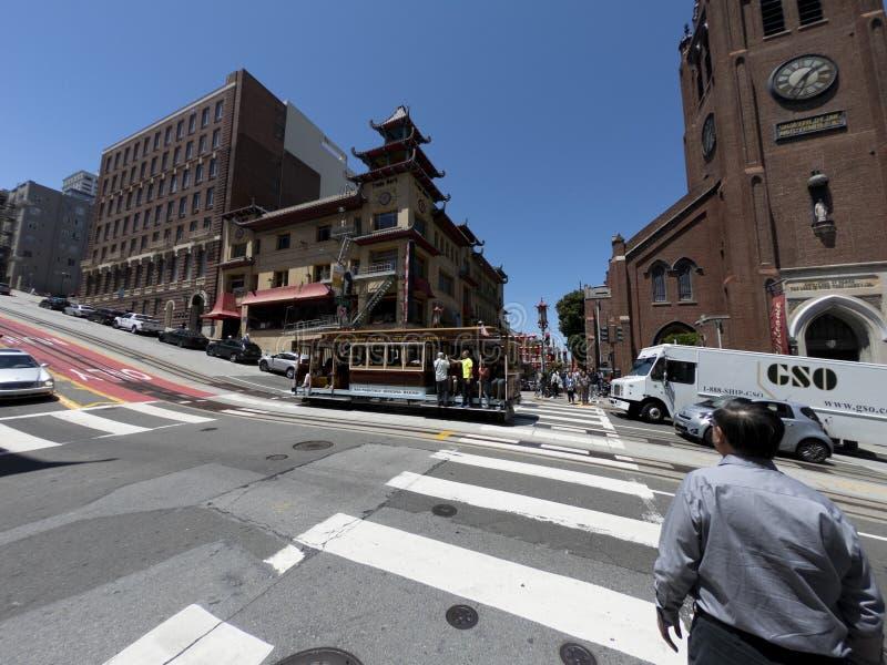 San Francisco - U.S.A. - citt? della Cina fotografie stock