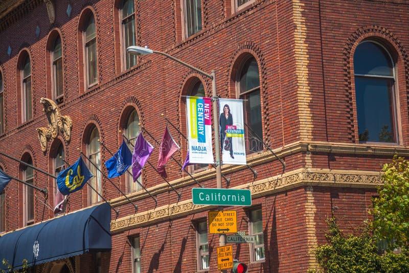San Francisco University Club fotos de stock royalty free