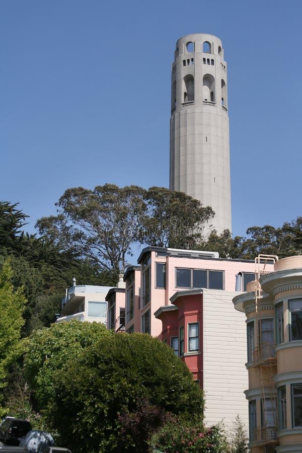 San Francisco Urban Living stock image
