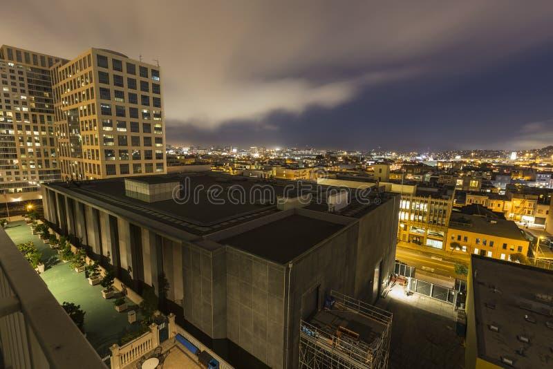San Francisco Urban Night images libres de droits