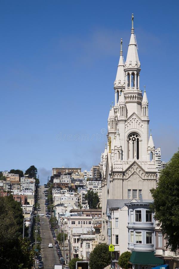 San Francisco urban scene. royalty free stock photography