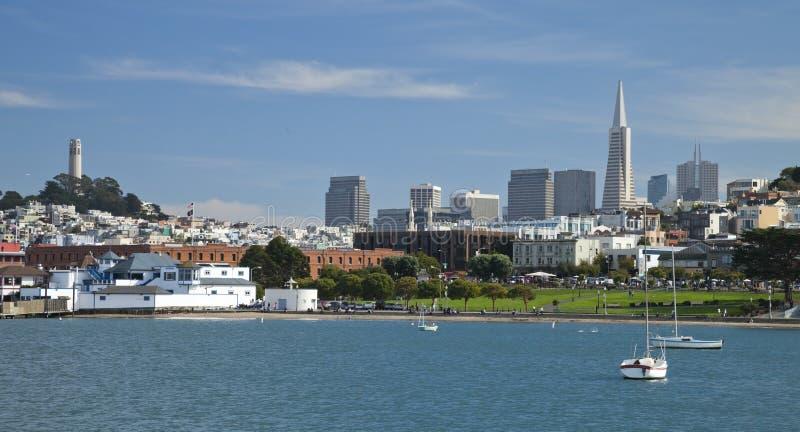 SAN FRANCISCO USA - nationellt maritimt historiskt parkerar royaltyfri foto