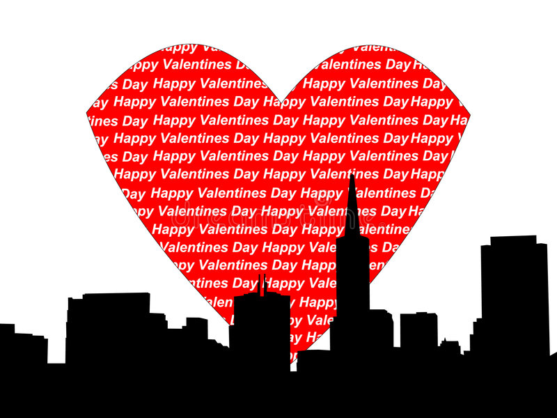 Download San Francisco Valentine Royalty Free Stock Images - Image: 1709239