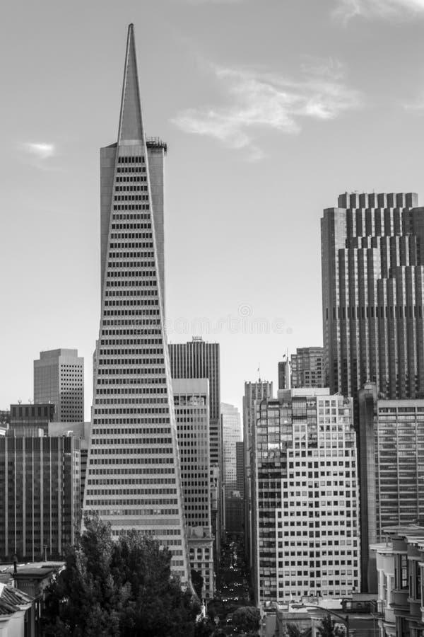 San Francisco van de binnenstad stock afbeelding