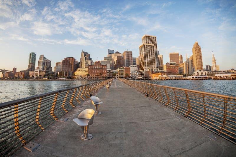 San Francisco in vissenoog stock foto's