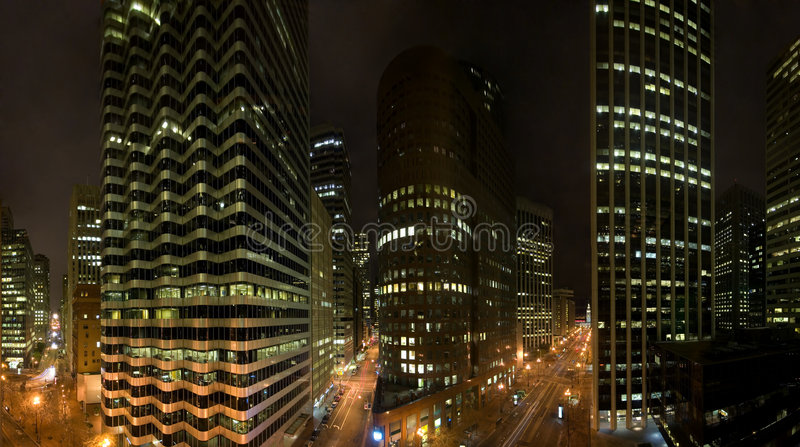 San Francisco w centrum, zdjęcia royalty free