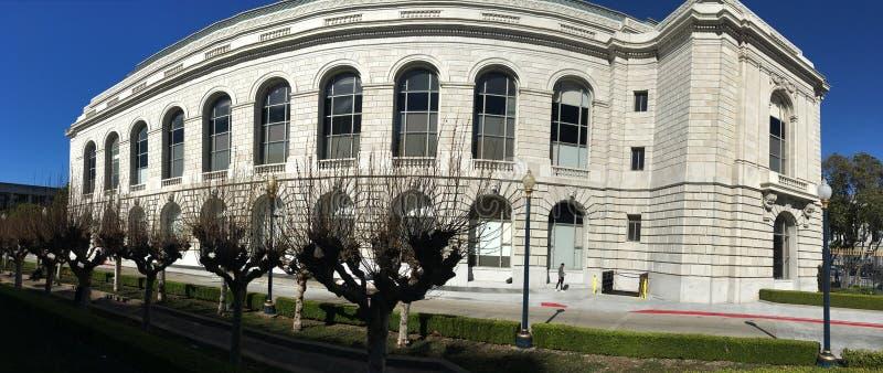 San Francisco War Memorial, veterani che costruiscono, teatro di Herbst, 1 fotografia stock libera da diritti