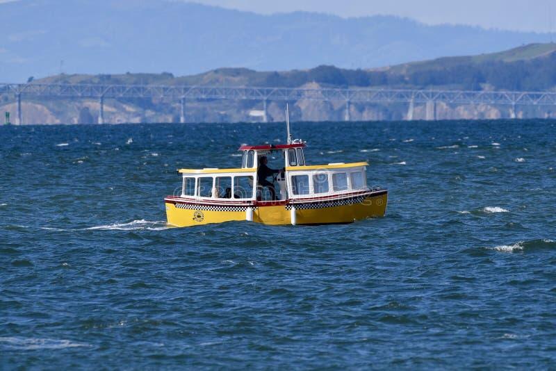 San Francisco Water Taxi arkivbild