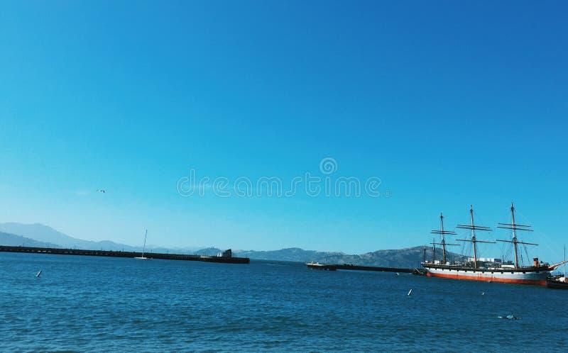San Francisco Waters lizenzfreie stockfotografie