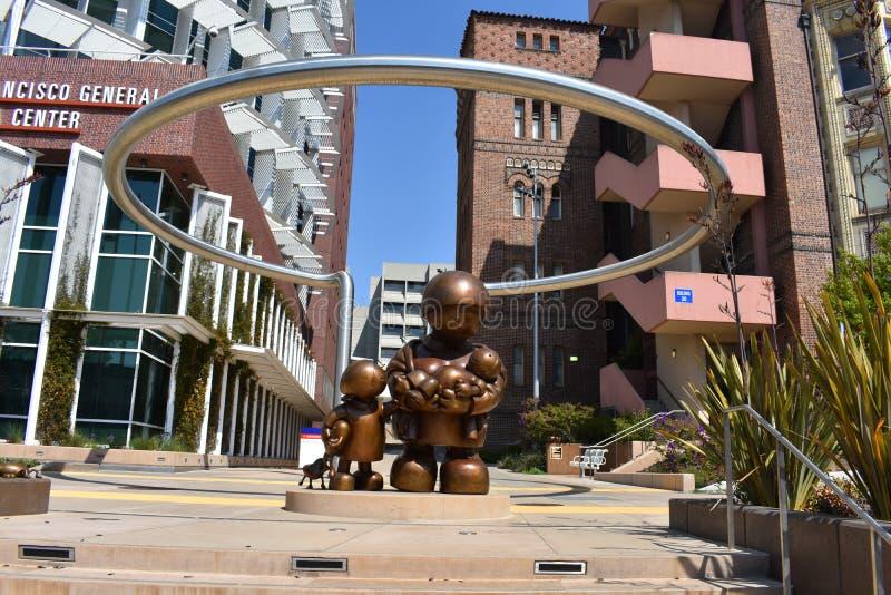 San Francisco Zuckerberg General Hospital e centro di trattamento di trauma, 11 fotografie stock