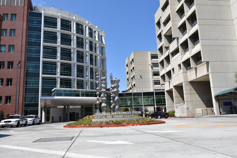 San Francisco Zuckerberg General Hospital y centro del tratamiento del trauma, 6 foto de archivo