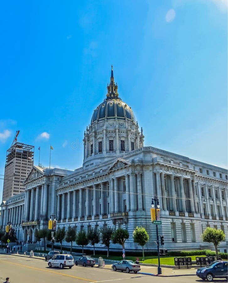 San Fransisco, CA usa - urząd miasta obraz royalty free