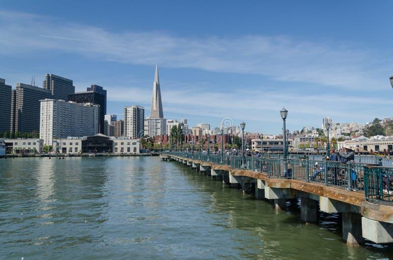 San Fransisco dowtown obraz stock