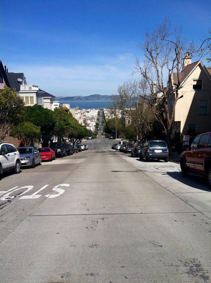 San Fransisco Hills imagenes de archivo