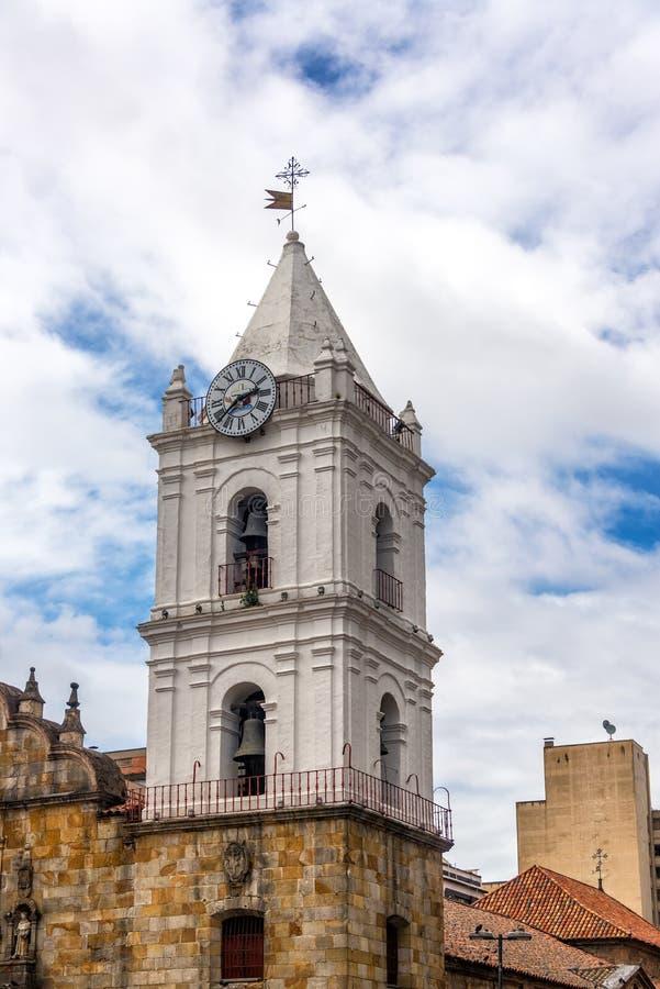 San Fransisco kościół w Bogota fotografia royalty free