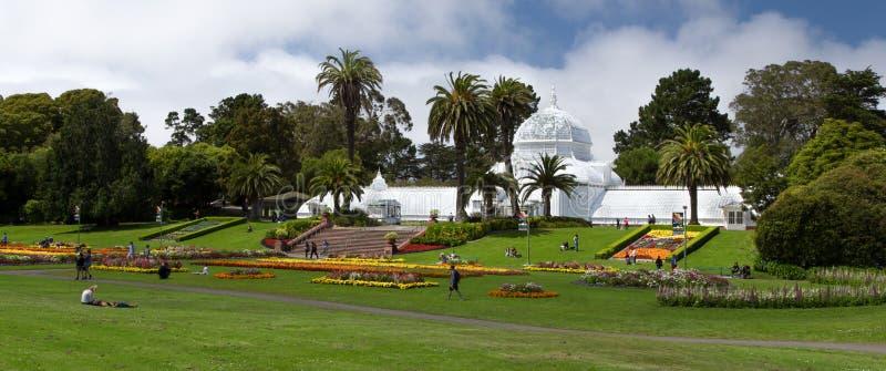 San Fransisco konserwatorium kwiaty obraz royalty free
