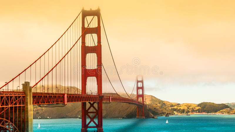 San Fransisco most fotografia royalty free