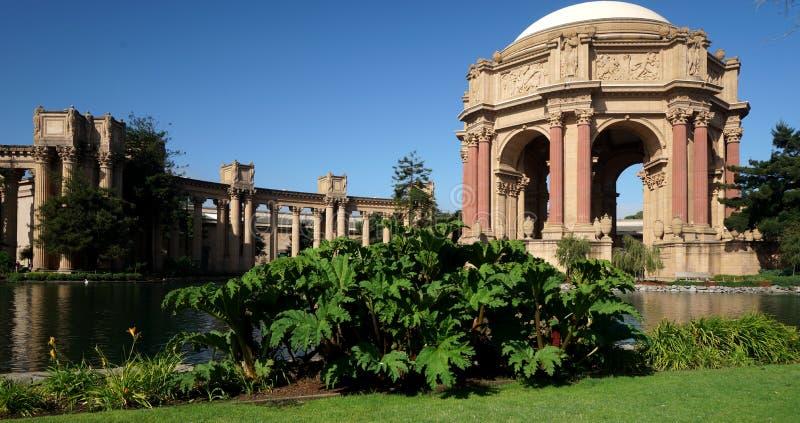 San Fransisco pałac sztuki piękna zdjęcie stock